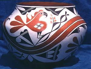 Traditional Acoma Pottery